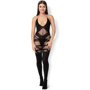Leg Avenue 'Opaque and Sheer Bodystocking'
