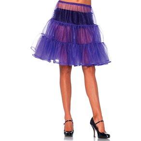 Leg Avenue Knielanger, transparenter Petticoat