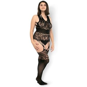 Leg Avenue 'Seamless Opaque Bodystocking'