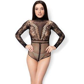Leg Avenue 'Lace And Net Bodysuit'