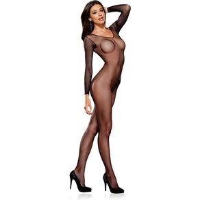 Dreamgirl Netz-Bodystocking im Ouvert-Look
