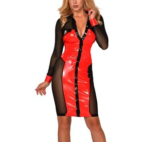 Guilty Pleasure 'Datex & Mesh Dress'