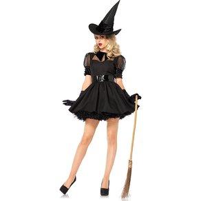 Leg Avenue Verspieltes Hexen-Kostüm, 3 Teile