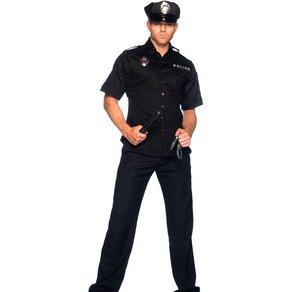 Leg Avenue 'Cuff Em Cop', 4 Teile