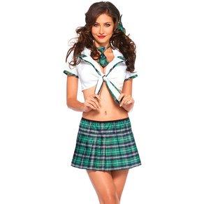 Leg Avenue 'Miss Prep School', 4 Teile
