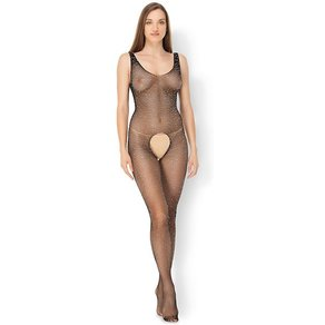 Leg Avenue 'Crystalized Fishnet Tank Bodystocking'