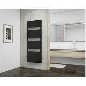 Schulte Designheizkörper Turin für Badezimmer