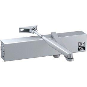 BASI Türschliesser Endanschlag und Schliessgeschwindigkeit einstellbar silber TS 200