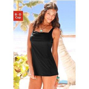 Lascana Badekleid mit schönem Druck oder unifarben