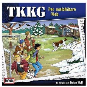 Sony CD TKKG 185 Der unsichtbare Dieb
