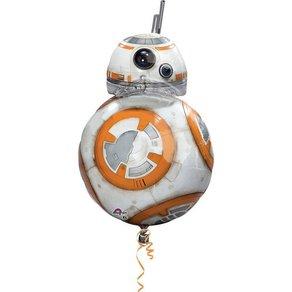 Amscan Figuren-Folienballon Star Wars BB8
