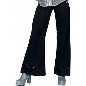 OTTO Disco Glitter Damen-Schlaghose schwarz