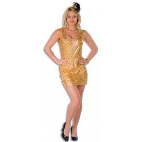 OTTO Sexy Disco Glamour Partykleid gold