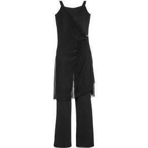 Sheego Jumpsuit Zweilagiger Style