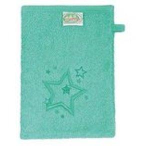 Odenwälder Waschlappen Sterne Frottee applemint 3er Pack