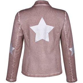 Alba Moda Sweatblazer in modischer Oildye-Färbung