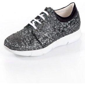 Alba Moda Sneaker mit Paillettenverzierungen