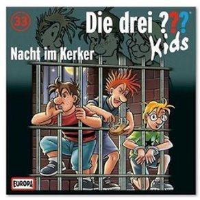 Sony CD Die drei  Kids 33 Nacht im Kerker