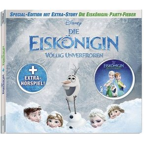 Kiddinx CD Die Eiskönigin Eiskönigin Party-Fieber