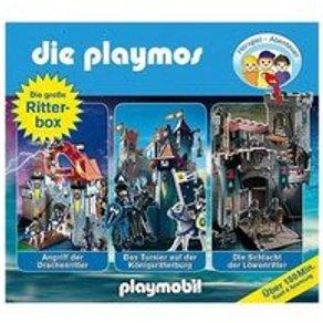 Edel CD Die Playmos Hörspiel-Box Ritter