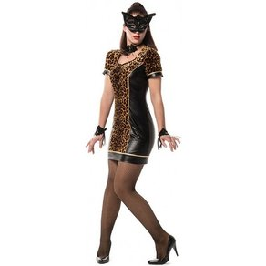 OTTO Sexy Tiger Lady Partykleid