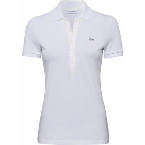 Lacoste Poloshirt mit langer Knopfleiste