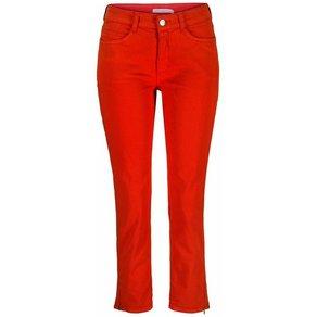 MAC 7 8-Jeans Angela Zip Stickerei in bleu und grey Galonstreifen