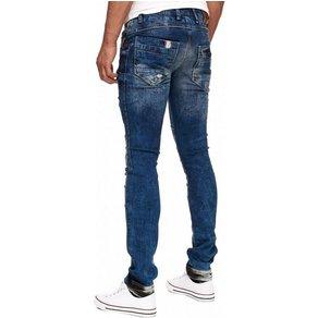 Rusty Neal Jeans in ausgefallenem Look 12097-1
