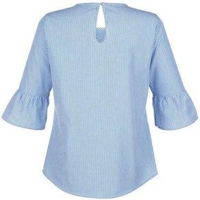 Alba Moda Bluse mit bunter Perlenverzierung