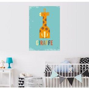 Posterlounge Wandbild Petit Griffin Baby Giraffe für das Kinderzimmer
