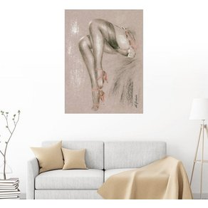 Posterlounge Wandbild Marita Zacharias Erotisches in High Heels