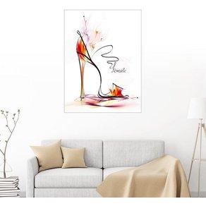 Posterlounge Wandbild High Heels