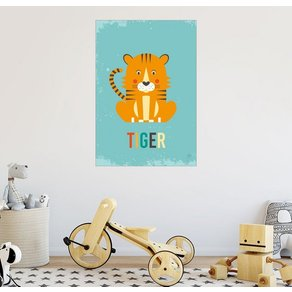 Posterlounge Wandbild Petit Griffin Baby Tiger für das Kinderzimmer
