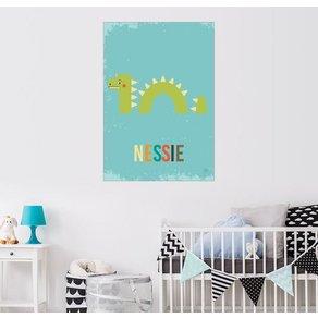Posterlounge Wandbild Petit Griffin Baby Nessie für das Kinderzimmer