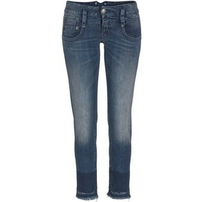Herrlicher Röhrenjeans PITCH SLIM CROPPED Low Waist mit dezentem Push-up-Effekt