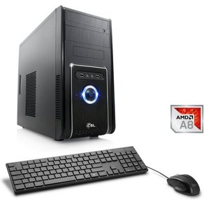 Csl Multimedia PC AMD A8-9600 Radeon R7 4 GB DDR4 RAM Sprint T4111 Windows 10 Home