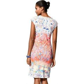 Alba Moda Kleid mit farbigem Blüten-Print