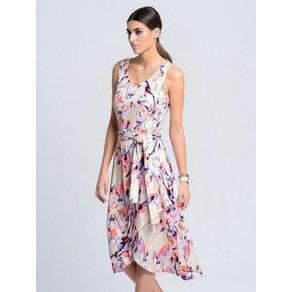 Alba Moda Jerseykleid mit schwingend asymmetrischem Saum