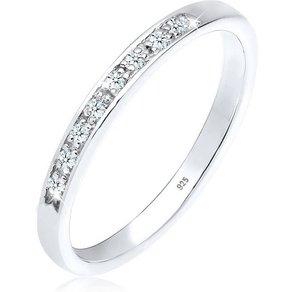 Diamore Diamantring Aufsteckring Funkelnd Diamant 0 08 ct 925 Silber