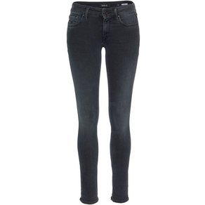 Replay Skinny-fit-Jeans LUZ mit besonderer Blue-Black-Waschung