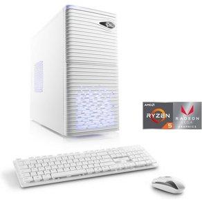 Csl Multimedia PC AMD Ryzen 5 2400G Vega 11 Grafik 8 GB DDR4 Sprint T8922 Windows 10 Home
