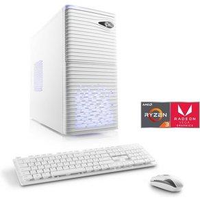 Csl Gaming PC AMD Ryzen 3 2200G Vega 8 Grafik GB DDR4 Sprint T8920 Windows 10 Home