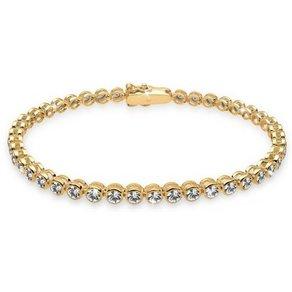 Elli Armband 925 Sterling Silber vergoldet Swarovski Kristalle