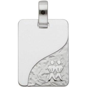 Adelia s Kettenanhänger Silber 925 Sterling Silver Sternzeichen Anhänger Zwilling Silber