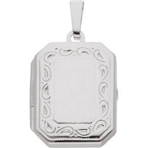 Adelia s Kettenanhänger Silber 925 Sterling Silver Medaillon Anhänger Silber