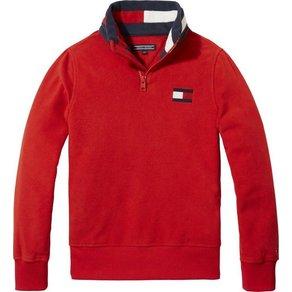 Tommy Hilfiger Sweatshirt POLAR FLEECE MOCK SWEATSHIRT