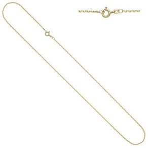 Jobo Goldkette Ankerkette 333 Gold 42 cm 1 2 mm