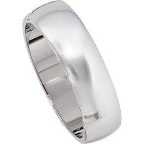 Jobo Armreif breit oval 925 Silber