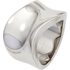 Jobo Silberring breit 925 Silber