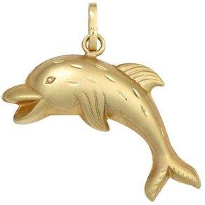 Jobo Kettenanhänger Delfin 333 Gold